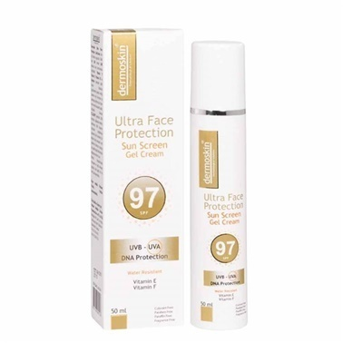Dermoskin  Ultra Face Protection Sun Screen SPF97 Gel Cream 50ml Renksiz
